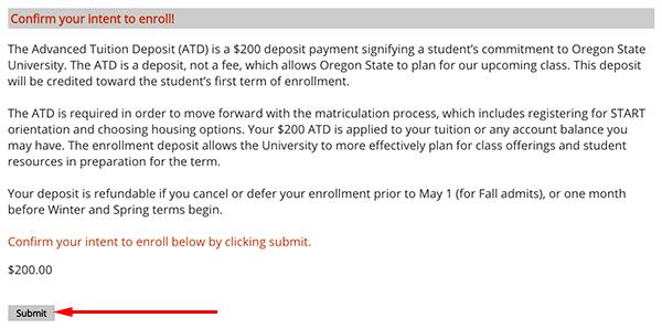 beaver basecamp confirm enrollment submit form