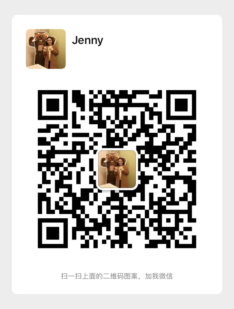 QR code image to connect with OSU representatives over WeChat